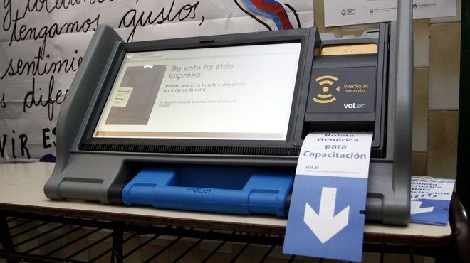 Otro formato. En la Casa Rosada afirmaron que la apuesta por la boleta electrónica no es un capricho de Macri.