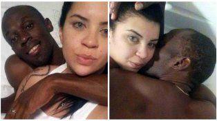 Pasó una noche con Bolt, publicó las fotos y contó los detales
