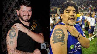 Sos mi hijo, le dijo Maradona a Diego Jr. por primera vez