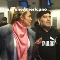 Maradona no pudo viajar a Dubai y el Diez descargó su furia