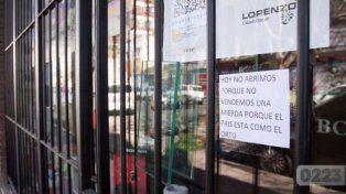 Se cansó de no vender, cerró su local y dejó un sugerente mensaje