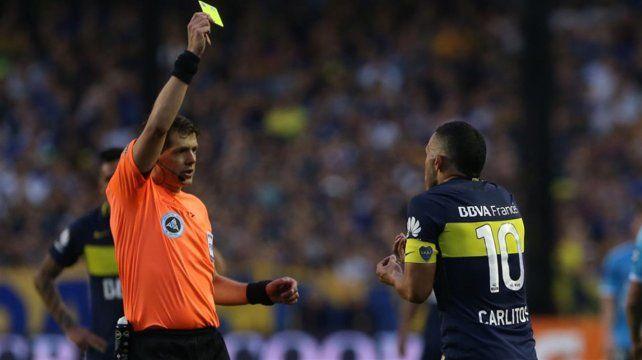 Tevez fue suspendido por tres fechas por la expulsión ante Belgrano