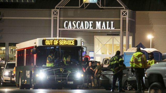 El Cascade Mall donde ocurrió una nueva masacre en Estados Unidos.