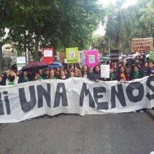 La histórica marcha en contra de la violencia de género invadió bulevar Oroño.
