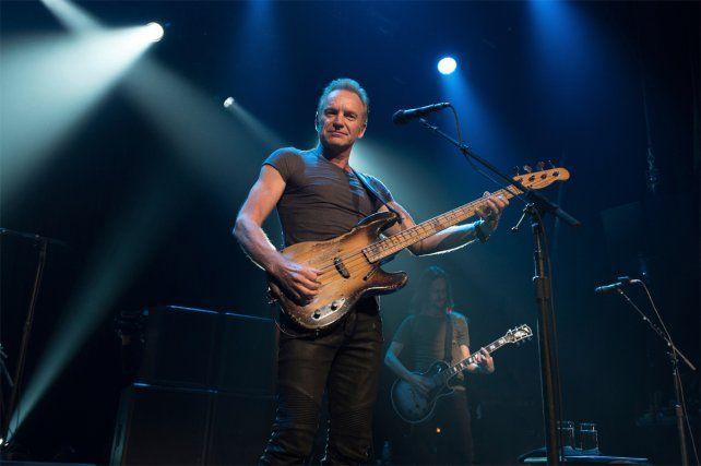 Le Bataclan reabrió con un show de Sting