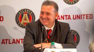 El Tata Martino admitió que está centrado en el presente de Atlanta
