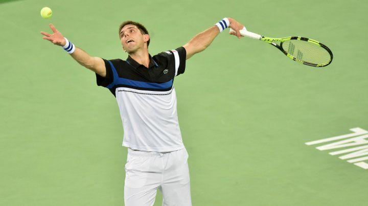 Delbonis perdió en cinco sets ante Cilic y el primer punto de la final de la Davis fue para Croacia