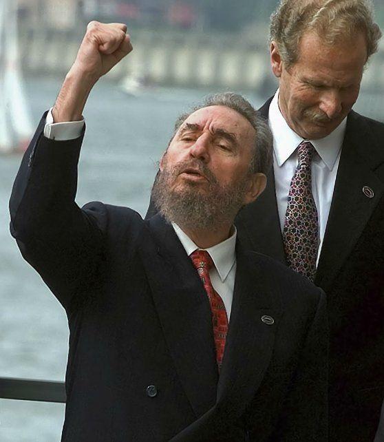 Castro durante la Cumbre Iberoamericana de 1998.
