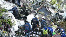 Siniestro. Concentran en Brasil los datos recabados del avión de LaMia.