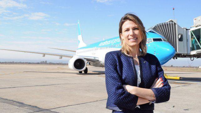 Isela Costantini estuvo menos de un año como presidente de Aerolíneas Argentinas.