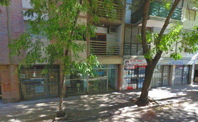 El edificio de Zeballos al 977