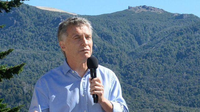 Macri se encuentra con su familia en Villa La Angostura.