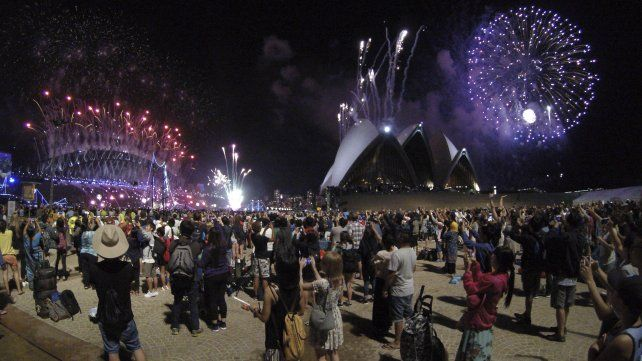 La famosa imagen de laCasa de la Ópera de Sydney.