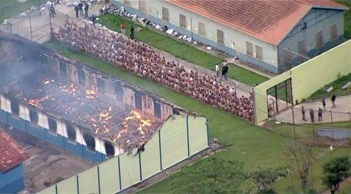 Al menos 60 muertos en un motín en una cárcel de Brasil