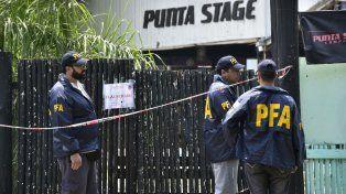 Efectivos federales realizaron tareas en el boliche donde hubo una fiesta electrónica en Arroyo Seco