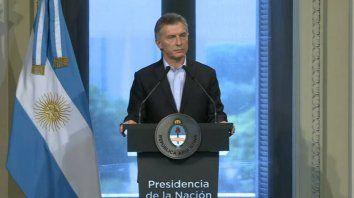 Macri brindó una extensa conferencia de prensa, la primera de 2017.