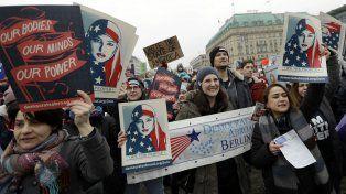 La marcha principal se realizó hoy en la capital de Estados Unidos.