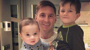 El tierno video de Mateo Messi bailando que hace furor en las redes