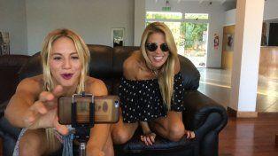 El topless accidental de Virgina Gallardo en Facebook Live