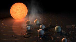 La Nasa descubrió un sistema solar con siete planetas como la Tierra