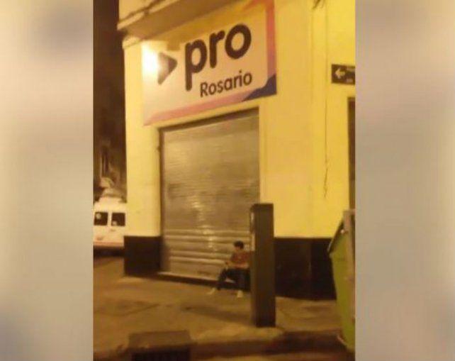 Ruidos molestos en el local del PRO de Rosario