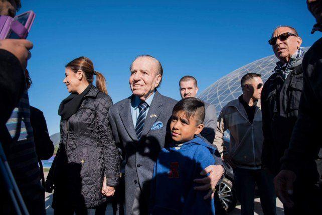 Menem será candidato a senador de La Rioja