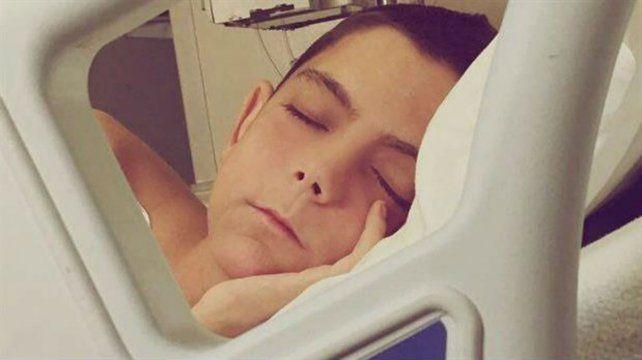 El joven argentino padecía un linfoma post trasplante.
