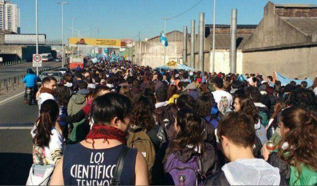 Con el estadio de Arsenal repleto, Cristina lanza su candidatura en el frente Unidad Ciudadana