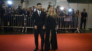 Sergio Agüero y la Princesita Karina.