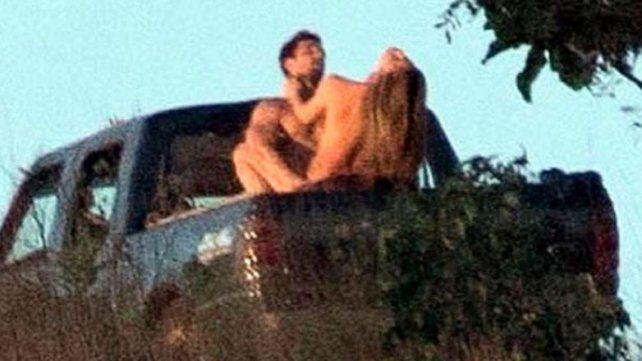 Virales. Las imágenes eróticas se difundieron y luego se aclaró cómo era la situación.