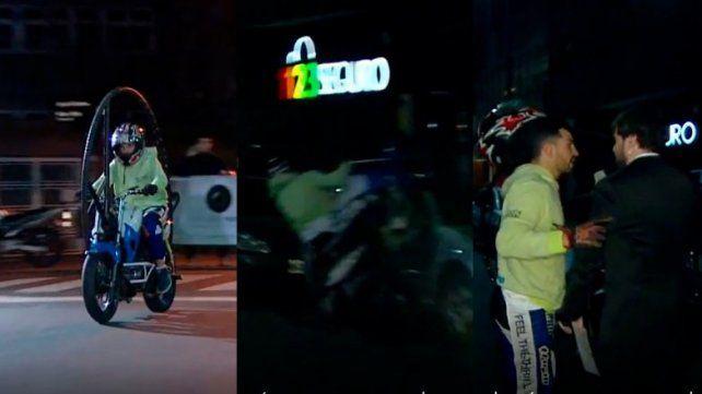 Un accidente con una moto en pleno programa asustó a Guido Kaczka