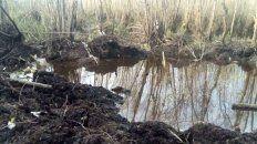 confirman que hallaron restos humanos en la avioneta caida en el delta