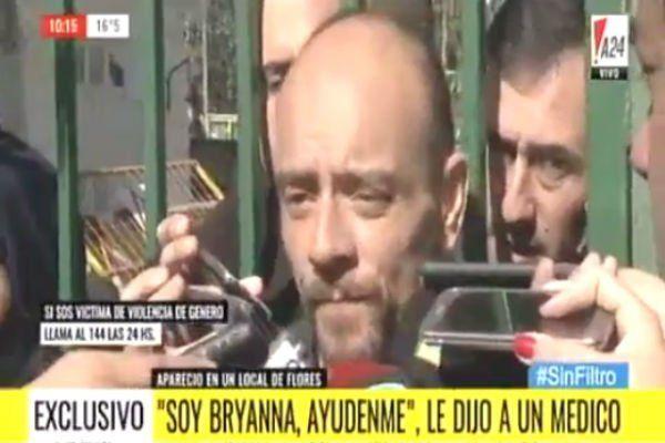 El padre de Bryanna pidió que encuentren a los degenerados que secuestraron a su hija