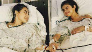 Con una imagen conmovedora, Selena Gómez reveló que se sometió a un trasplante de riñón