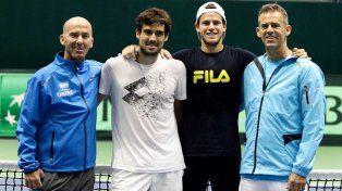 Pella abrirá a la madrugada la serie para mantener a Argentina en Grupo Mundial de Copa Davis