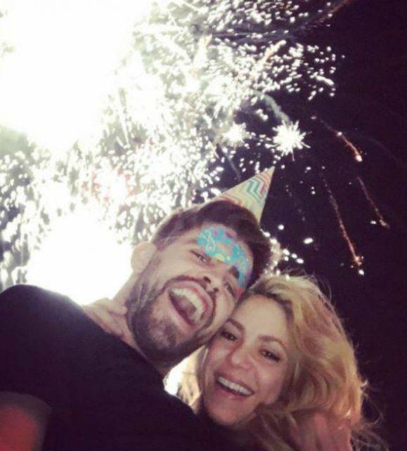 Con una foto en Instagram, Gerard Piqué desestimó los rumores de separación de Shakira