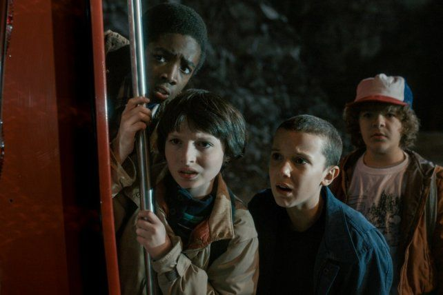 La popular serie de TV de Netflix Stranger Things.