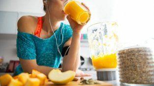 dieta saludable. Hay déficit en la ingesta de frutas, verduras y lácteos.