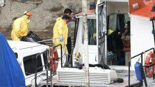 El cadáver fue rescatado del río por Prefectura y el gabinete criminalístico de PDI.