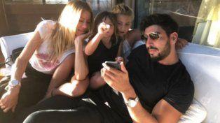 Las fotos de las hijas de Nicole de vacaciones con Facundo Moyano