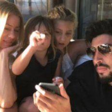Nicole Neumann tuvo que salir a aclarar qué pasó entre sus hijas y Facundo Moyano