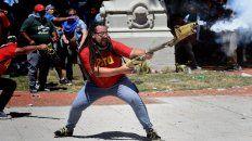 me comparan con el presidente de corea, dijo el manifestante del mortero