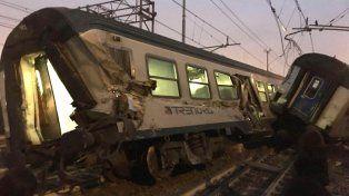 Accidente de tren en Milán deja al menos tres muertos y un centenar de heridos