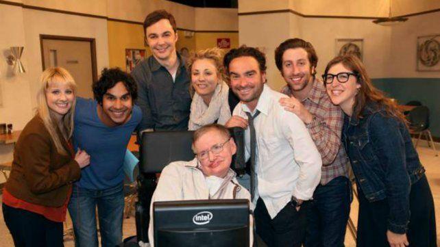 Los actores de The Big Bang Theory despidieron a Stephen Hawking