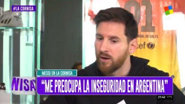 Messi: me da lástima que hoy Argentina esté cómo está