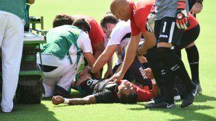 Afuera. Brian Sarmiento sufrió una dura lesión y estará alejado de las canchas.