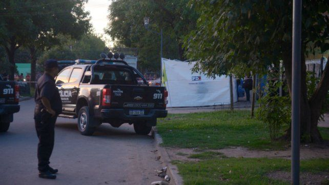 El hecho conmocionó al barrio Martín Fierro.