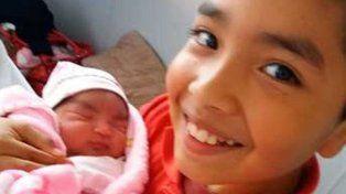 Nació María Luz, la hija de un tripulante del ARA San Juan