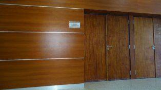 La sala del juzgado de Vera donde se desarrolló la audiencia imputativa.