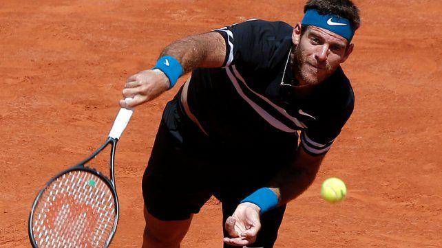 Del Potro le ganó a Cilic y jugará con Nadal en semi de Roland Garros